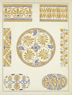 Vignettes décoratives - Henri Gillet 1922