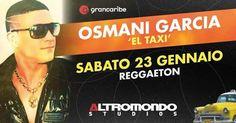 Sabato 23 gennaio 2016 non prendente appuntamenti, arriva Osmani Garcia in concerto all'Altromondo Studios per il Grancaribe.