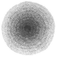 Sebra Vloerkleed 120 cm - Zwart/Wit