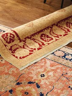 Grace your home with the elegant beauty of the Ayshire Area Rug that will warm and enrich any space in your home.