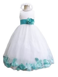 Classykidzshop White/Teal Mermaid Jade Rose Petals Special Occasion Dress - 6T White/Teal Mermaid Jade Classykidzshop,http://www.amazon.com/dp/B00CVLMKC2/ref=cm_sw_r_pi_dp_gC.Etb1VPZPQ8914