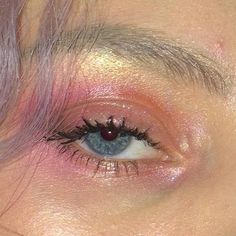 aesthetic, eyeshadow, and night image