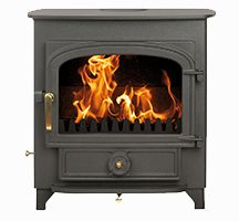 The elegant Vision 500 from Clearview Stoves was the first multi-fuel stove to be approved for burning wood and authorised fuel in UK smoke control areas. The Vision 500 Flat Top on legs uses a classic Clearview design which will transform any ho Contemporary Fireplace, Wood, Stove, Home, Fireplace, Wood Burning Stove, Clearview Stoves, Single Doors, Wood Stove