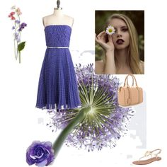 """""""flower"""" by louiserondeau on Polyvore"""