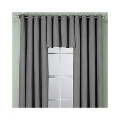 Update your room with the sophisticated elegance of the Union Square Grommet Top Window Curtain Panel. Featuring a subtle woven texture for added dimension, this lovely panel complements nearly any room décor. Drapes Curtains, Valance, Square Windows, Window Panels, Curtain Panels, Union Square, Home And Living, Living Room, Bed & Bath