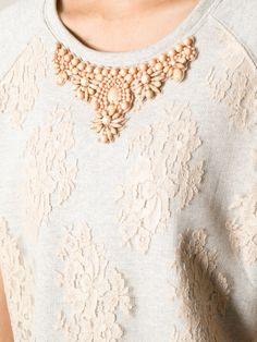 embellished sweater - Buscar con Google
