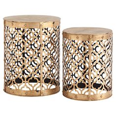 2-Piece Wynona End Table Set $138