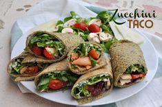 Zucchini taco