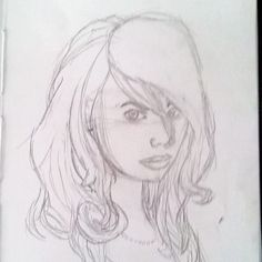 #illustration #ilustração #sketch #sketchbook #draw #drawing #desenho #girl