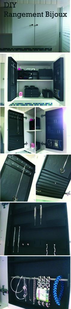 Miroir armoire bijoux casa 79 projets essayer pinterest bijoux - Armoire bijoux miroir ...