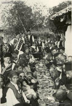Bulgarian peasant wedding, 30s of XX century