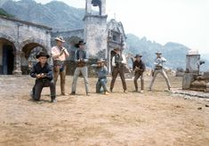The Magnificent Seven. Great all-star cast.