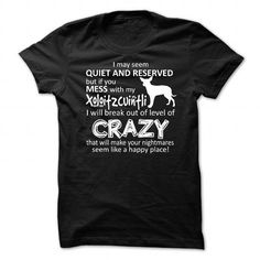 Mess With My Dog Xoloitzcuintli T Shirts, Hoodies. Get it here ==► https://www.sunfrog.com/Pets/Mess-With-My-Dog-Xoloitzcuintli.html?41382 $23