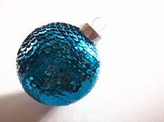DIY: Sequins 'N Glue ChristmasOrnament