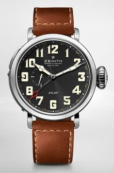 Zenith Pilot Pilot Montre d'Aéronef Type 20 GMT #men #watches