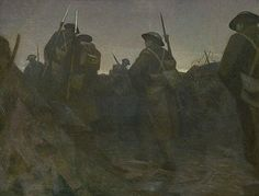 Reliefs at Dawn by C.R.W. Nevinson