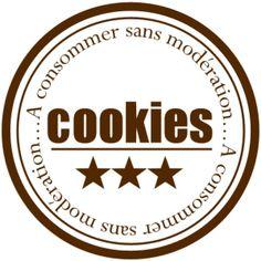 Étiquettes Cookies Plus