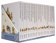 World Of Peter Rabbit Collection 23 Books Box Gift Set Beatrix Potter
