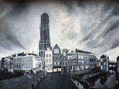 Acryl schilderij Utrecht