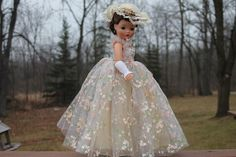 Madame Alexander Cissy Gown #2282 with Crispy Tag - Gown Only! from girlygirl on Ruby Lane