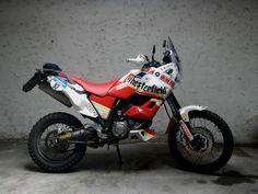 YAMAHA XT660Z by Desertech