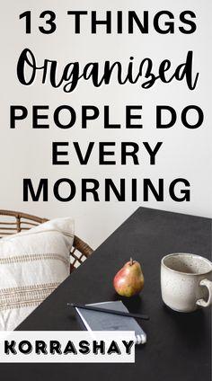 5am Club, Planner Organization, Organization Ideas, Organizing Life, Organising, Organized Planner, College Organization, Household Organization, Morning Habits
