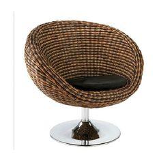 Eurostyle Olivia Swivel Lounge Chair