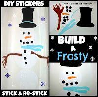 Frosty Returns- More Winter Bath Fun ~ Bath Activities for Kids