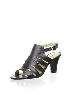 38% OFF Adrienne Vittadini Women's Senna Sandal (Black)