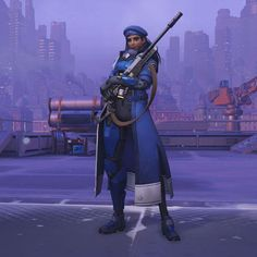 Captain Amari (skin)- OVERWATCH