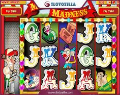 How about riding the fastest roller coaster?  With Midway Madness free slot by Rival you'll be taken back to your childhood! Amazing theme park, various merry-go-rounds, popcorn, tastiest ice cream, melting cotton candy and more awaits you. Sounds appealing, doesn't it? Try it yourself! Play Midway Madness for free at www.slotozilla.com
