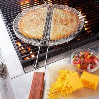 Sur La Table quesadilla grilling basket. I can still get my quesedilla fix while camping, awesome.