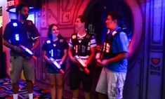 Groupon - $ 32 for Laser Tag for Up to Four with Arcade Credits at Lazer X ($90 Value) in Arden - Arcade. Groupon deal price: $32