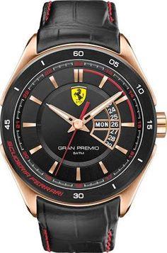 Scuderia Ferrari Men's Gran Premio Rose Gold Watch | Peter Jackson