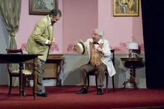 Felice Sciosciammocca e Don Gaetano Papocchia