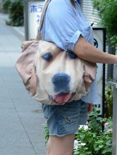 Golden Retriever tote, dog lover tote, dog portrait bag, dog print tote, pet portrait bag, pet lover bag, animal portrait bag, D024
