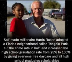 What a wonderful human being!