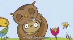 Die Eule mit der Beule – Ein Liederhörbuch für Kleine