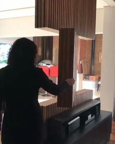 Living Room Partition Design, Living Room Tv Unit Designs, Room Partition Designs, Tv Unit For Living Room, Tv Wall Design, Modern Tv Room, Modern Living, Modern Tv Units, Home Room Design