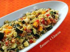 COUS COUS LIGHT   ricetta vegetariana