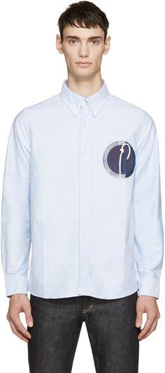 Visvim Blue Juneau Weld Shirt