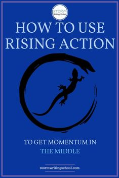 Great lesson on how to use rising action in the middle of your stories and scenes. Fiction Writing, Writing Advice, Writing Resources, Writing Help, Writing A Book, Writing Prompts, Writing Ideas, Writing Notebook, Writing Workshop