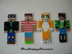 Perler Bead Minecraft Skins                                                                                                                                                                                 Plus