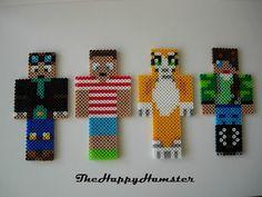 Perler Bead Minecraft Skins