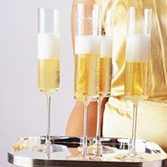 champagne, flute, champagn breakfast, dinners, dinner parties, dinner recipes, entertain, bubbl, parti idea