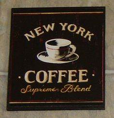 Coffee+Wall+Plaque+Picture+Sign.+Paris+by+SundayTreasures+on+Etsy,+$7.95