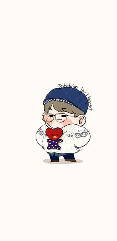 Read BTS fashion from the story Fanart BTS by with 344 reads. Bts Chibi, Bts Taehyung, Jimin, Bts Wallpaper, Iphone Wallpaper, Fanart Bts, Les Bts, Cartoon Fan, Bts Drawings