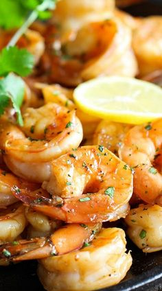 Sweet Lemon Shrimp.. More inspiration at Bed and Breakfast Valencia Mindfulness Retreat Spain : http://www.valenciamindfulnessretreat.org