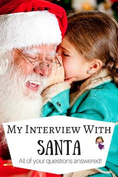 My Interview With Santa 2