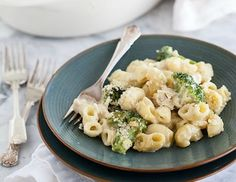 Chicken and Broccoli Mac and Cheese